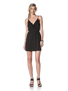 Luna  Women's Olivia Ruffle Dress (Black)