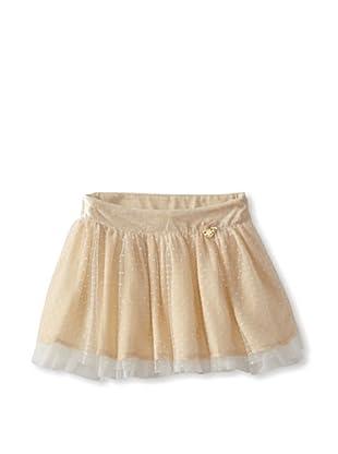 Blumarine Girl's Dot Tulle Skirt