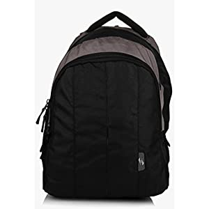 Black 15 Inches Laptop Cyber Backpack American Tourister