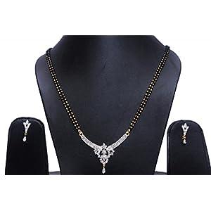 Nataraj Art American Diamond Mangalsutra