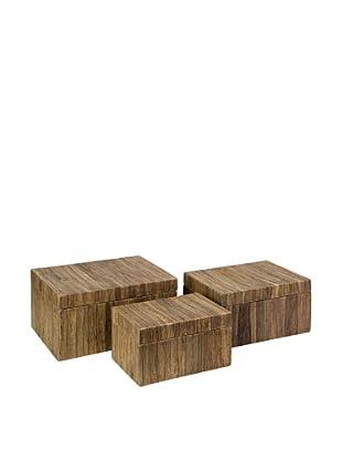 Set of 3 Havana Storage Boxes