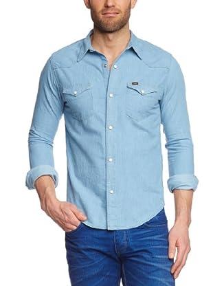 Lee Camisa Conecuh (Azul claro)