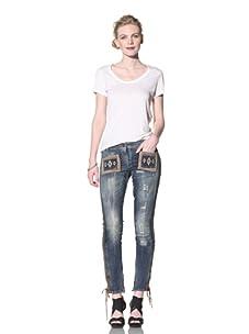 Just Cavalli Women's Embellished Jeans (Denim)