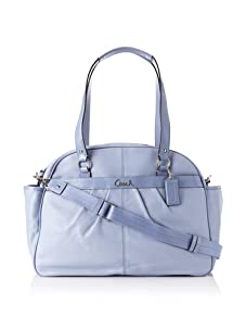 Coach Addison Leather Baby Bag Tote, Periwinkle