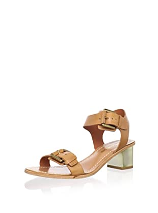 Pour La Victoire Women's Ilissa Sandal (Saddle Brown)