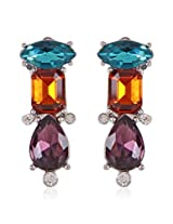 Trendy Baubles Multi Stone Stud For Women