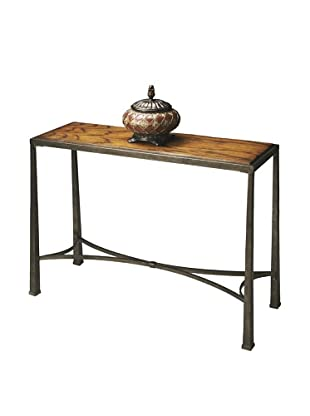 Butler Specialty Company Honey/Pewter Console Table