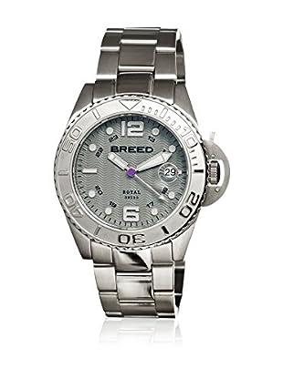 Breed Reloj con movimiento cuarzo suizo Brd4804 Plateado 42  mm