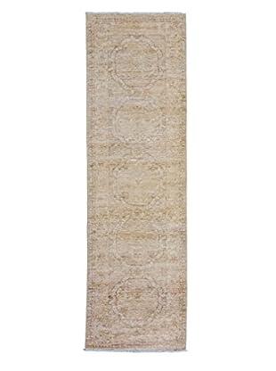Darya Rugs Fine Oushak Oriental Rug, Ivory, 2' 4