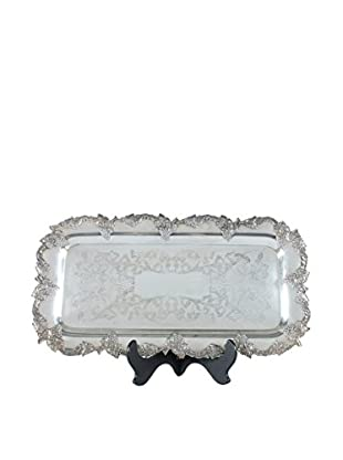 Prima Silver-Plate Platter, Silver