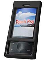 Cellet HTC Touch Pro - Verizon Only Black Rubberized Proguard Cases