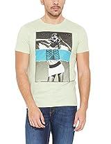 John Players Men Crew Neck Cotton T-Shirt 8902986591805