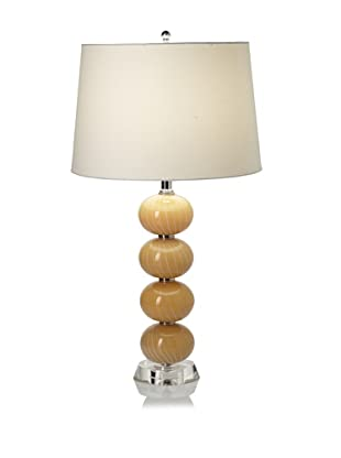 Lighting Accents Glass Orb Table Lamp (Cream)