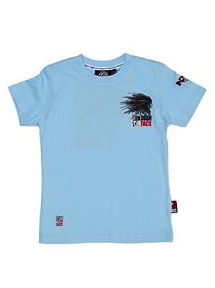 The Indian Face Camiseta Print Logo 2 (Azul cielo)