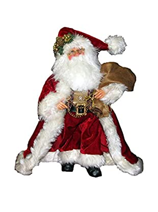 Kurt Adler Jacqueline Kent Traditional Standing Santa
