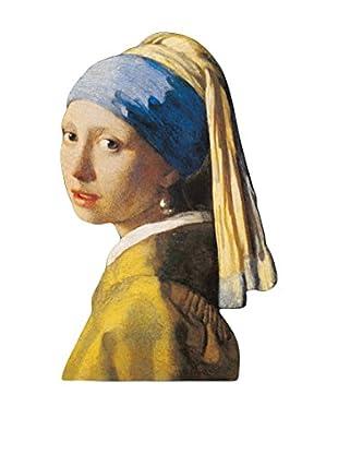 ArtopWeb Panel de Madera Vermeer Ragazza Con Lorecchino Di Perla