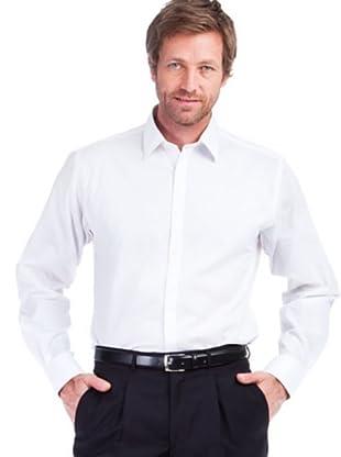 Cortefiel Camisa Rayas (blanco)