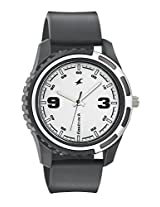 Fastrack Silver Dial Watch For Men-3114PP01