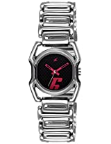 Fastrack Silver Dial Analogue Watch for Women (6100SM02)