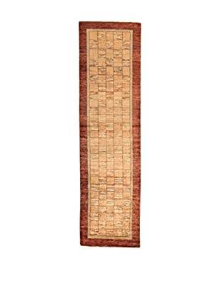 Design Community By Loomier Teppich Bamiyan braun 84 x 299 cm