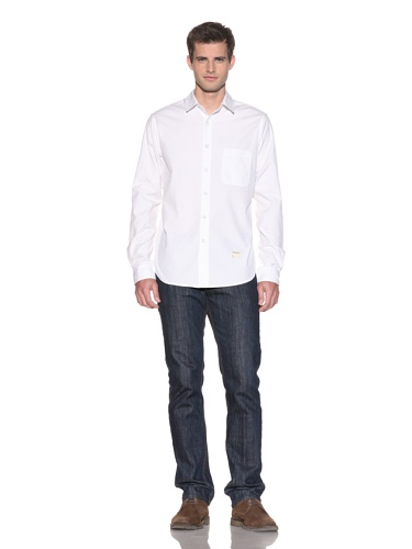 Aviator Men's The Liam Woven Shirt (Solid White)