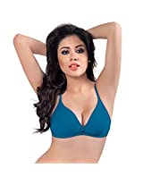 Sonari Omania Women's T-shirt Bra (Royal Blue_36B)