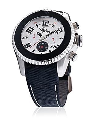 Vip Time Italy Uhr mit Japanischem Quarzuhrwerk VP5048ST_ST schwarz 47.00  mm