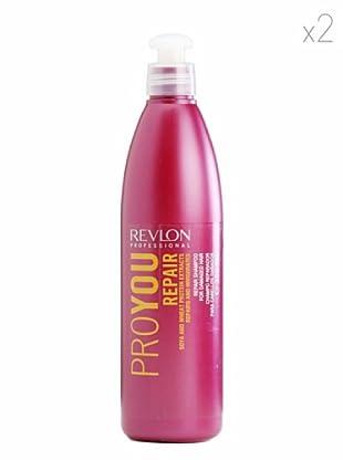 Revlon  Set 2 Pro Champús Reparador 350  ml