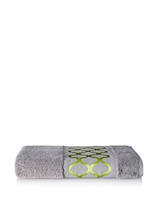 Anali Tangier Bath Towel, Green/Grey