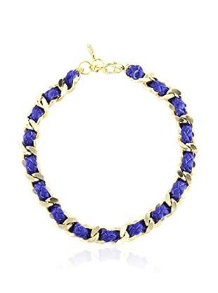 Ettika Purple & 18K Gold-Plated Iconic Necklace