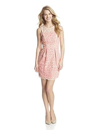 Jessica Simpson Women's Sleeveless Lace Dress (Blush)