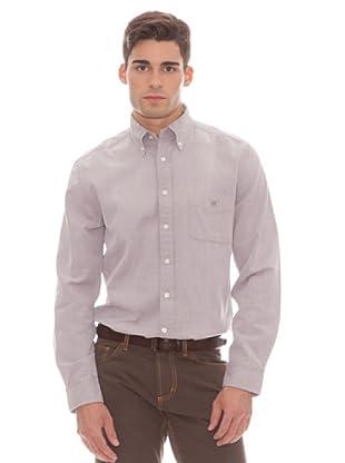 Gant Camisa Lisa (marrón)