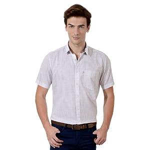 Casual Slim Fit Half Sleeved Shirt