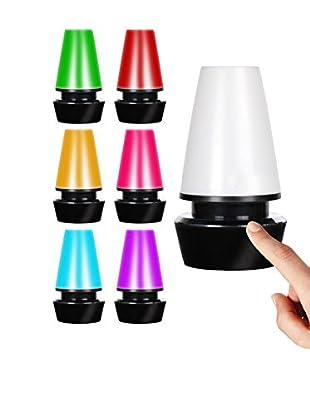 Lo+Demoda Tischlampe Touch Led schwarz