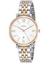 Fossil Jacqueline Analog White Dial Women's Watch - ES3844I