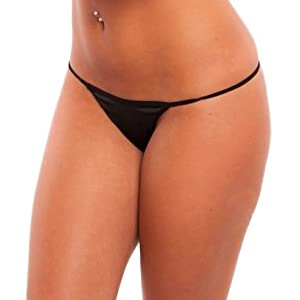Under Cover Lingerie Fun Day G-string - Black