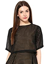 Miss Chase Women's Body Blouse Shirt