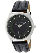 Titan Youth Analog Black Dial Men's Watch - NE1590SL02
