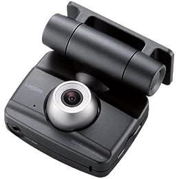 Logitec ドライブレコーダー 常時録画型 液晶ディスプレイ搭載 LVR-SD100BK