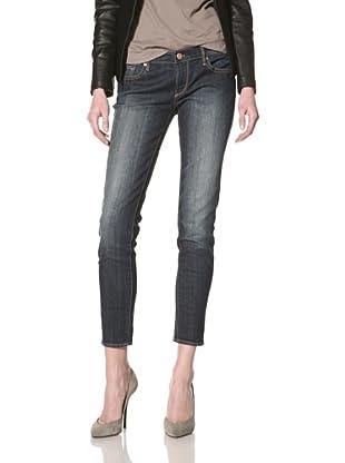 Driftwood Women's Skinny Jean (Dark Blue)