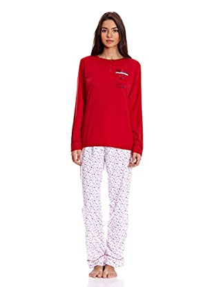 Tress Pijama Señora (Rojo)