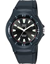 Q&Q Standard Analog Black Dial Men's Watch - VP58J006Y