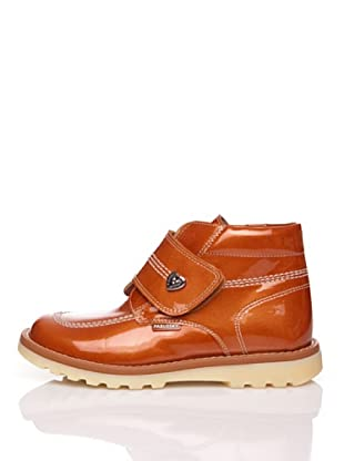 Pablosky Stiefel Lackleder Herz (Orange)