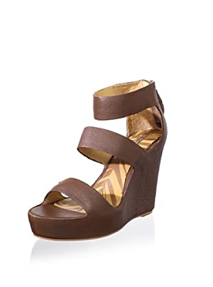 Matiko Women's London Wedge Sandal (Brown)
