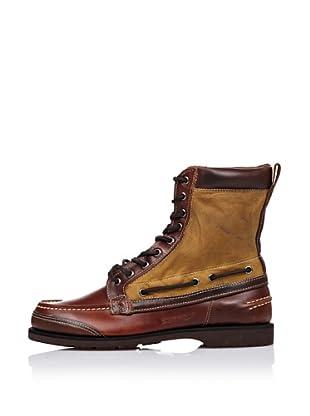 Sebago Zapato Bota Engrasada (Marrón)