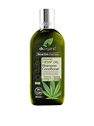 Dr Organic 2 in 1 Shampoo e Balsamo Capelli Hemp Oil 265 ml