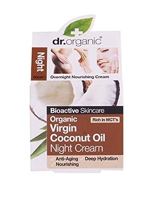 Dr Organic Crema Notte Virgin Coconut Oil 50 ml