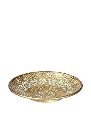 Concept Luxury Dekoteller Arabian Decoration goldfarben