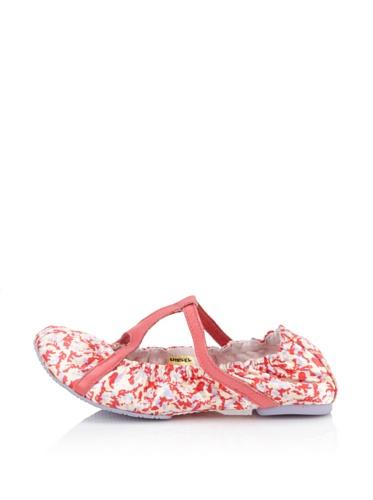 Diesel Kids Strappy Flat Shoe (Pink)