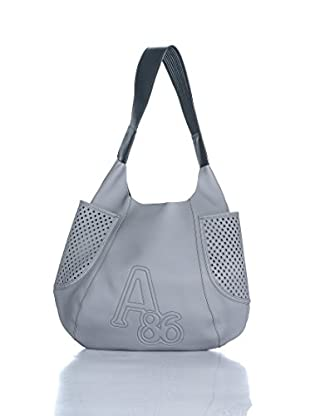Atos Lombardini Schultertasche Pre Collection grau